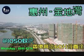金地灣_惠州|首期3萬(減)|@1050蚊呎|香港高鐵60分鐘直達|香港銀行按揭(實景航拍)