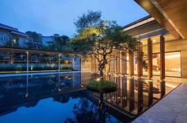 汇景东方_中山|首期5万(减)|西班牙别墅|买一层送两层➕两个车位|深中大桥出入口与香港深圳一桥之隔