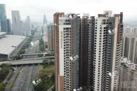 寶生Midtown_深圳|CBD巔峰複式|核心地段|鐵路沿線 (實景航拍)