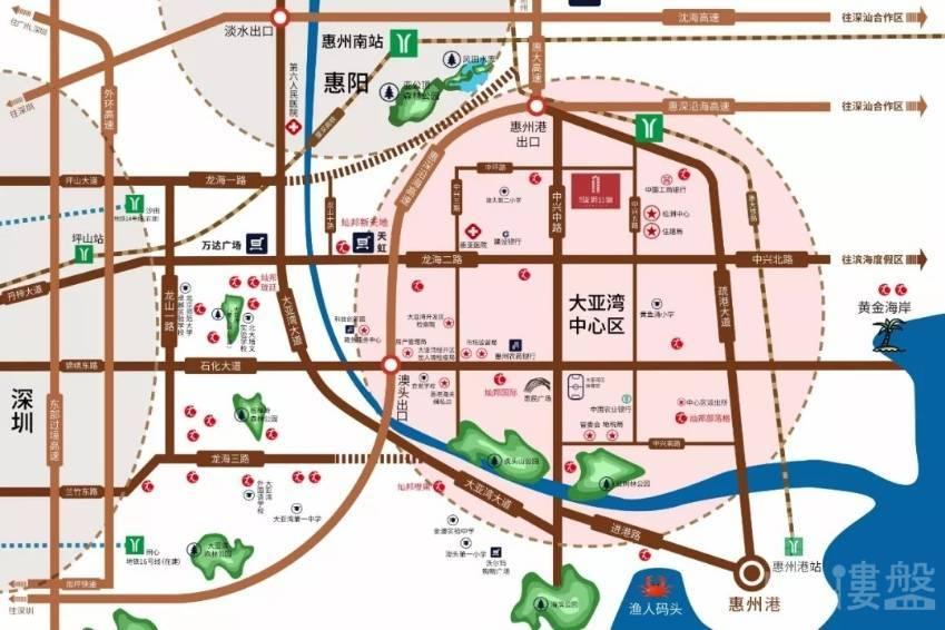 灿邦珑玥公馆_惠州 首期3万(减) 大型屋苑 香港银行按揭